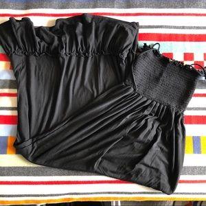 Maternity maxi dress, sz s